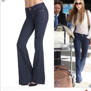 JBrand Dark Vintage Flare Jeans
